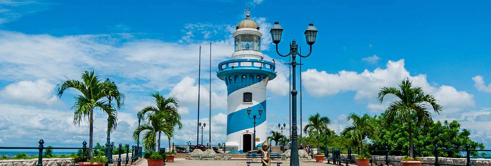 Faro de Guayaquil, Ecuador.