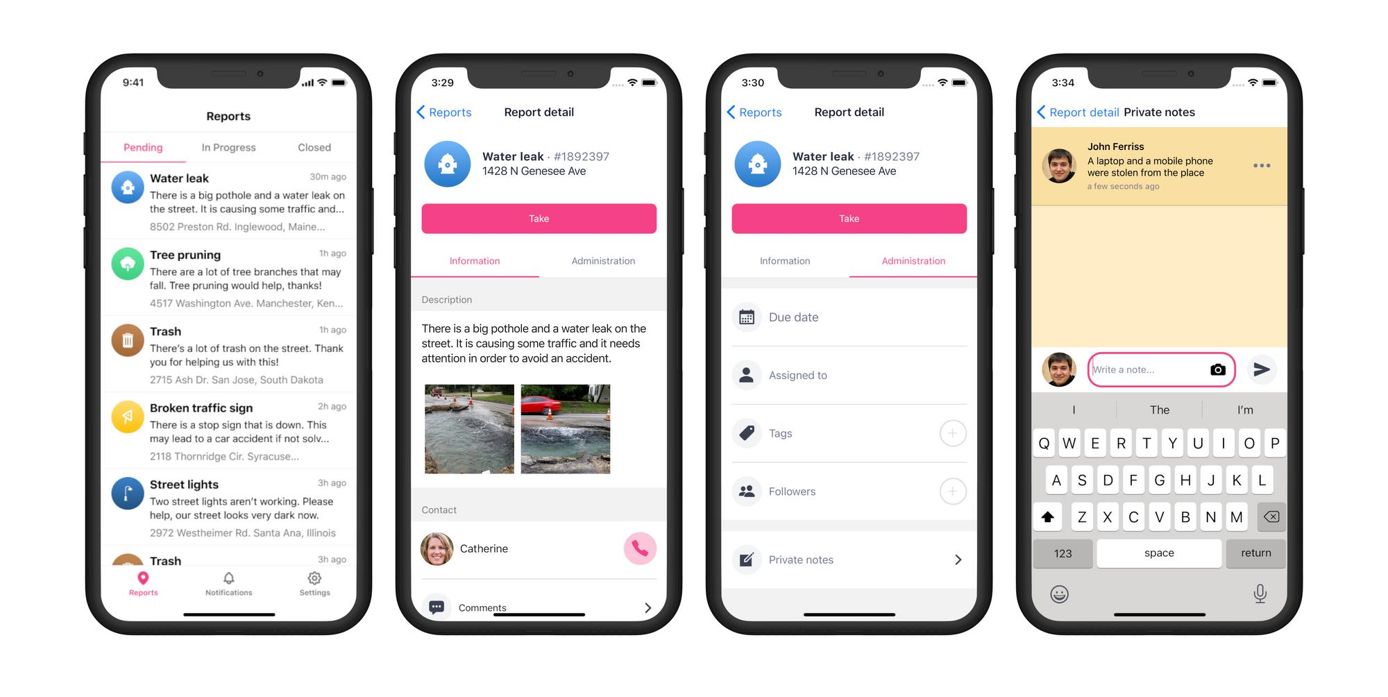 SOSAFE GO te permite atender y resolver reportes SOSAFE desde tu celular.